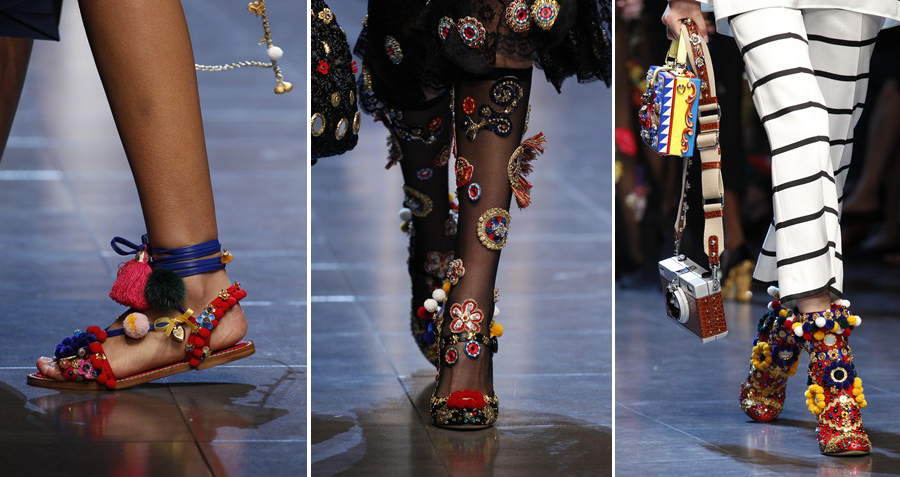 Dolce Gabbana Spring Summer 2016 Shoe Collection