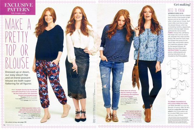 Prima Magazine - Pattern, October 2015 (02)