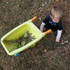 Collecting sticks #fergletoutside #unpreschool