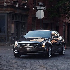 Perfect for every inch of the road, the 2016 #Cadillac #ATS Coupe features athletic handling and refined aesthetics. - photo from cadillac