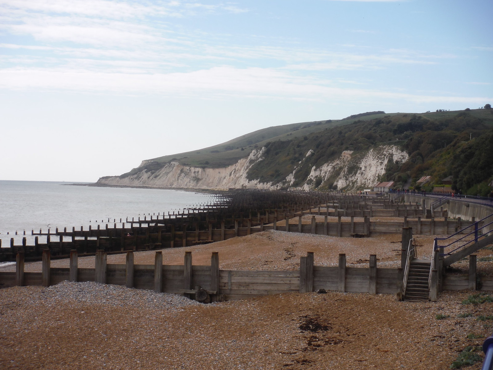 Groynes and Cliffs SWC Walk 25 - South Downs Way 8 : Southease to Eastbourne
