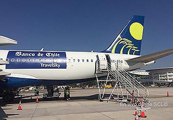 Sky Airline A320 CC-ABW TravelSky (F.Muñoz)