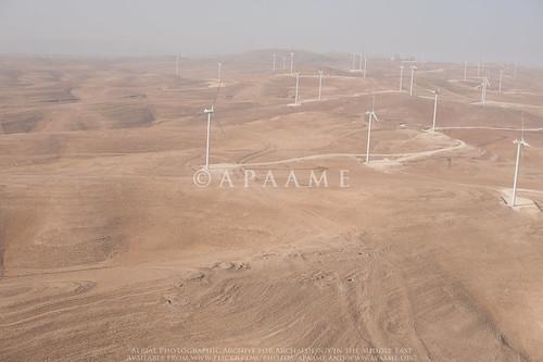 Kh. ad-Dabbah (TBAS #273); Jabal ar Rudaysiyah Windfarm