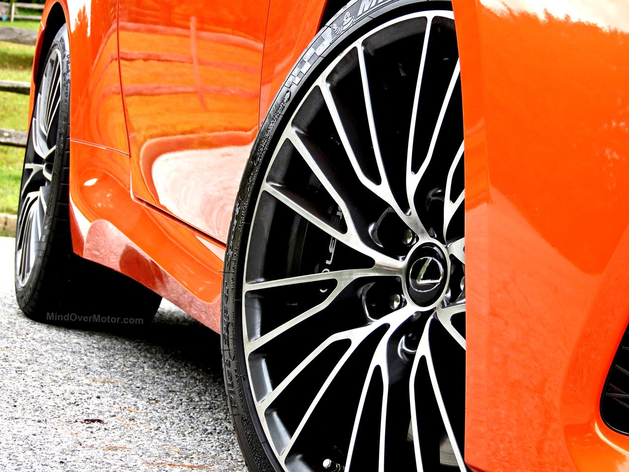 Orange Lexus RC-F Review 12