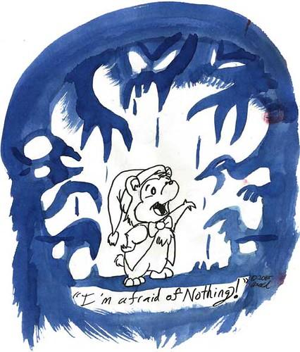Inktober 10.27.15 - The Great Bear Scare