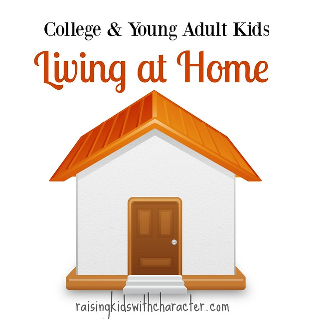 College & Young Adult Kids Living At Home