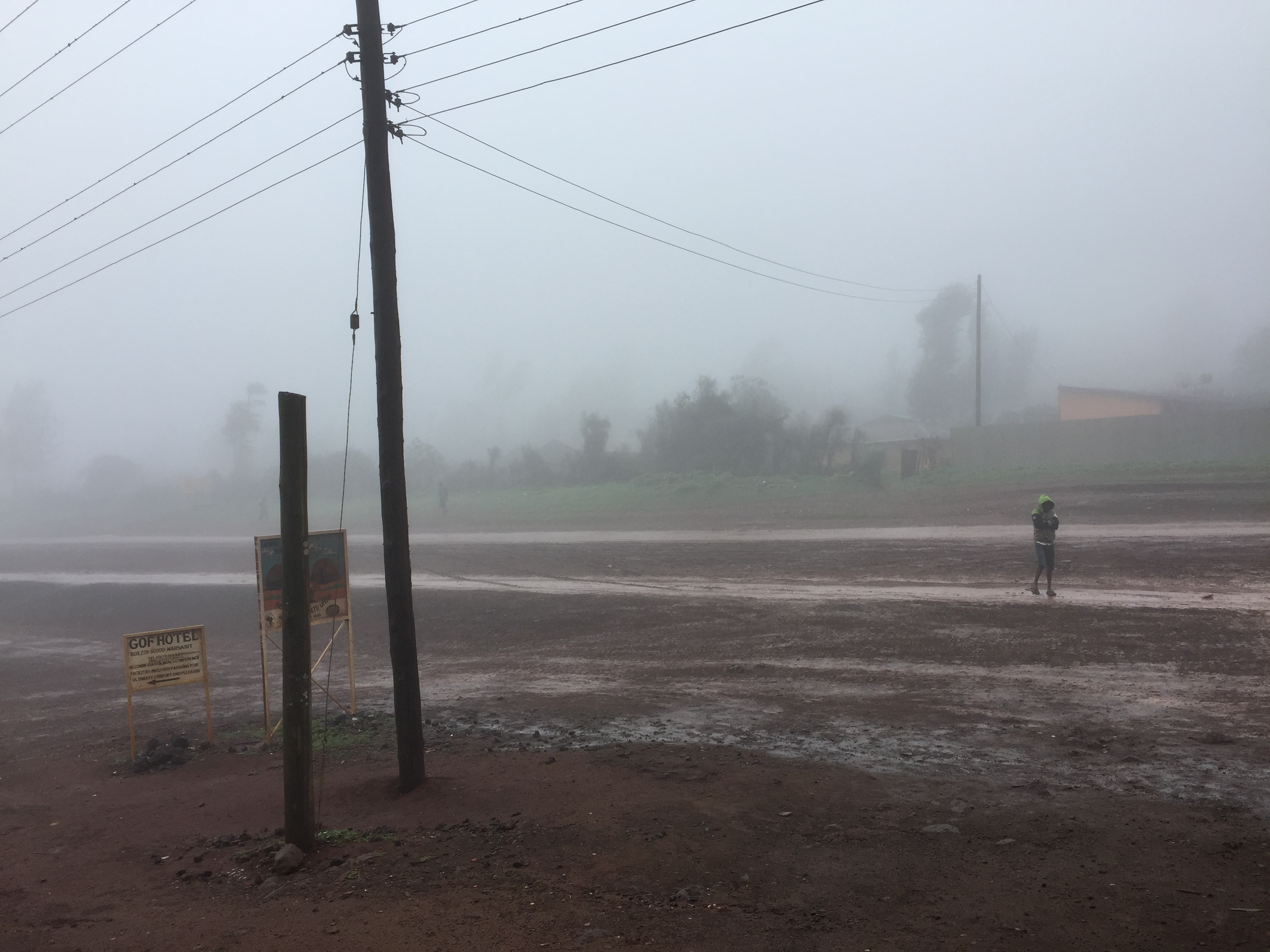 Regen in Marsabit