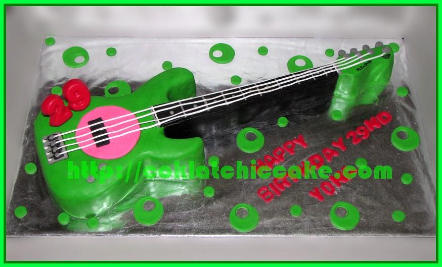 Cake Gitar Fender Fleabass