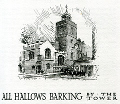 All Hallows Barking by the Tower, 1911