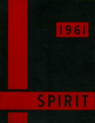 1961 AHS Ames High School Spirit Yearbook Cover