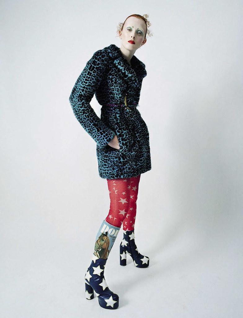 Карен Элсон — Фотосессия для «Vogue» IT 2015 – 3