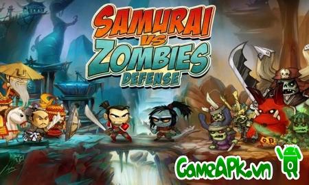 SAMURAI vs ZOMBIES DEFENSE v3.4.0 hack full tiền cho Android