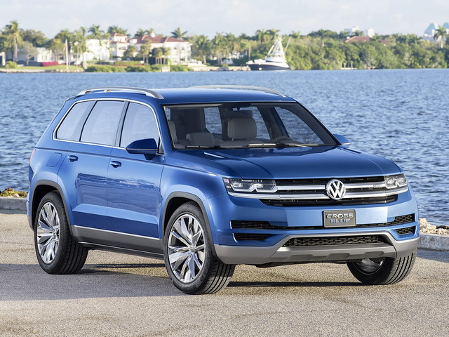 Volkswagen CrossBlue Concept. 2013 год