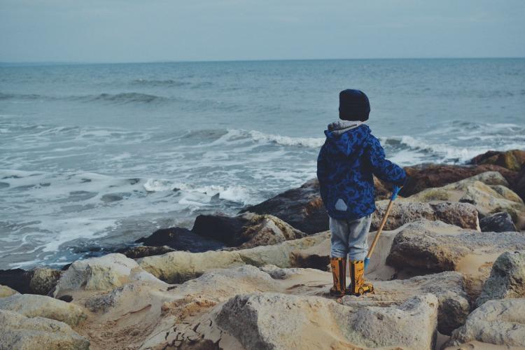 beach watching