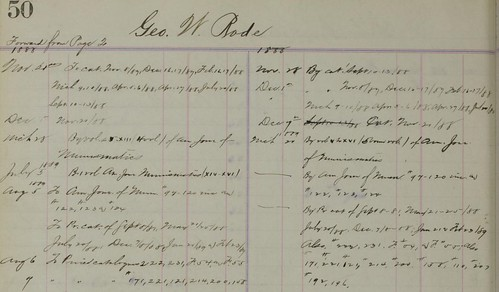 WPNS Ledger 1888 purchases
