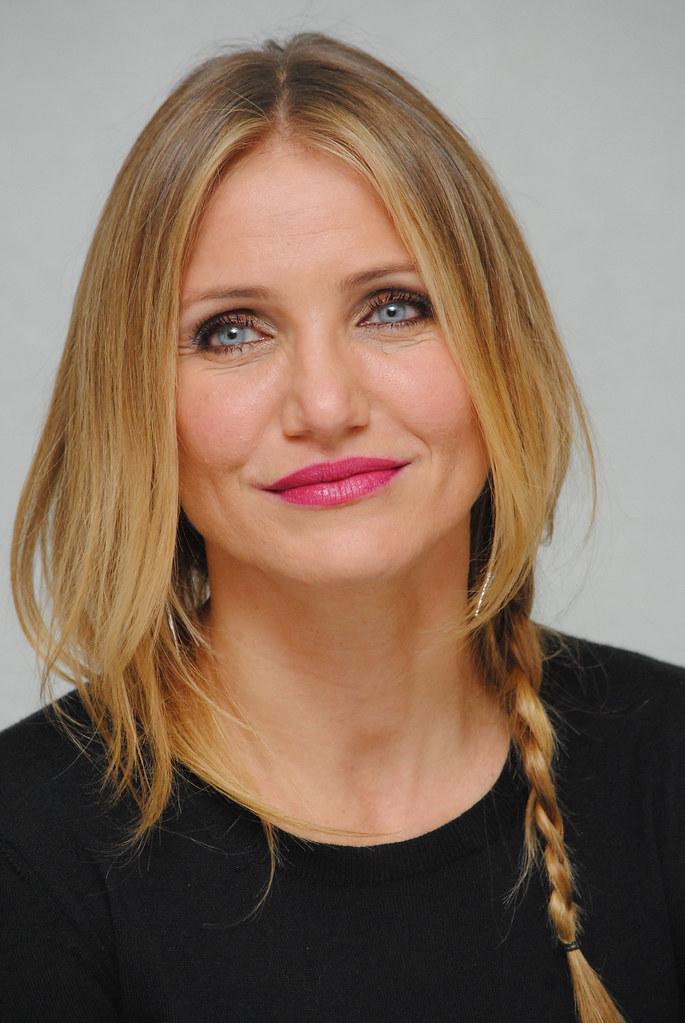 Камерон Диас — Пресс-конференция «Энни» 2014 – 47