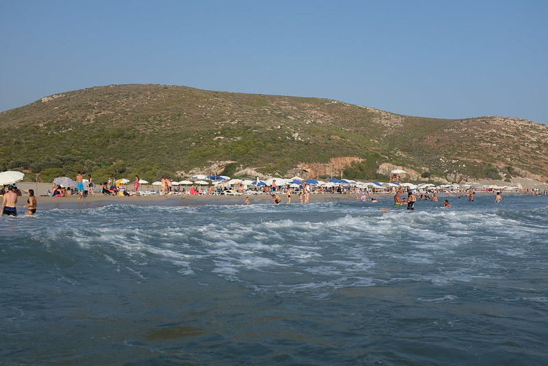 Patara Beach, seen from the sea