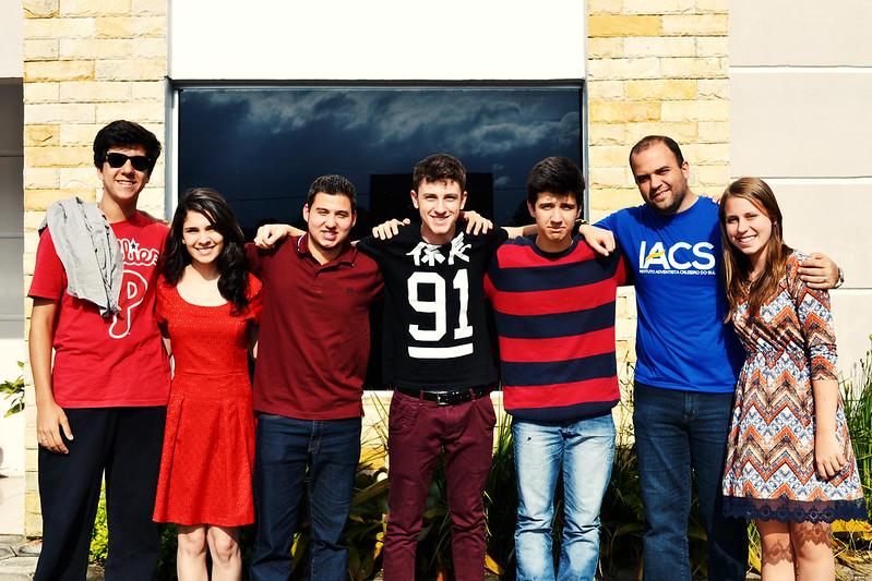 JA dos alunos do IACS em outra igreja: