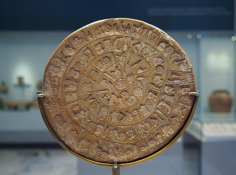 The Phaistos Disc(Side A)