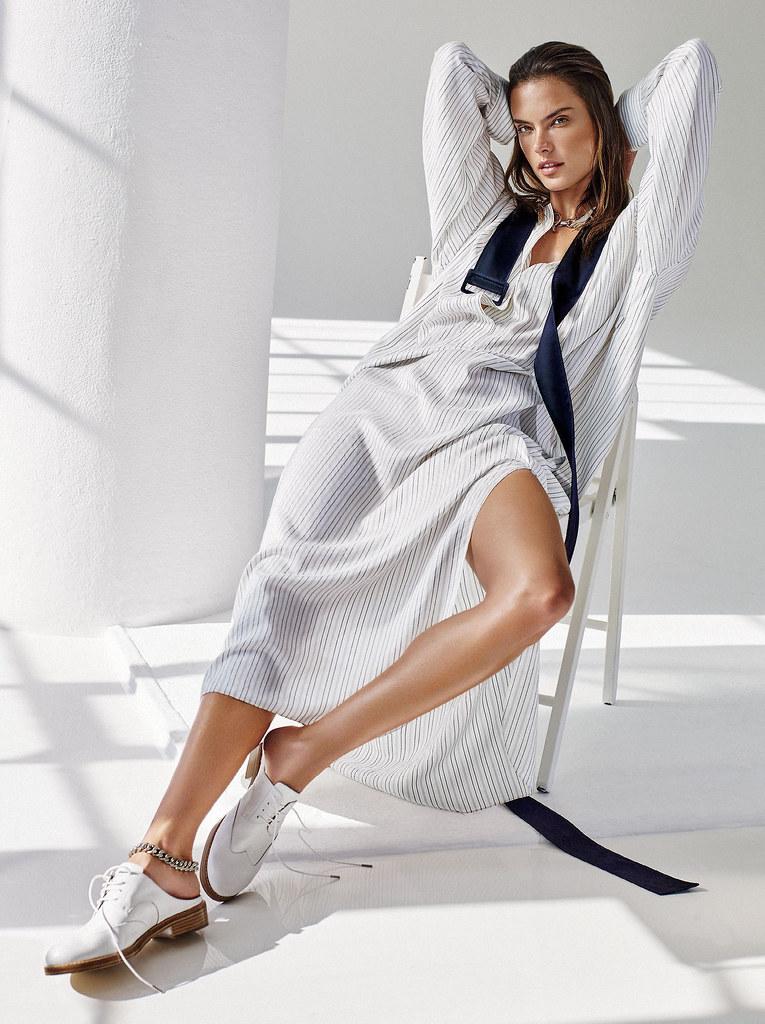 Алессандра Амбросио — Фотосессия для «Glamour» 2015 – 2