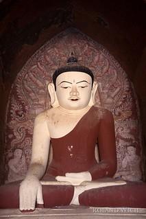 Bagan - Temple Buddha