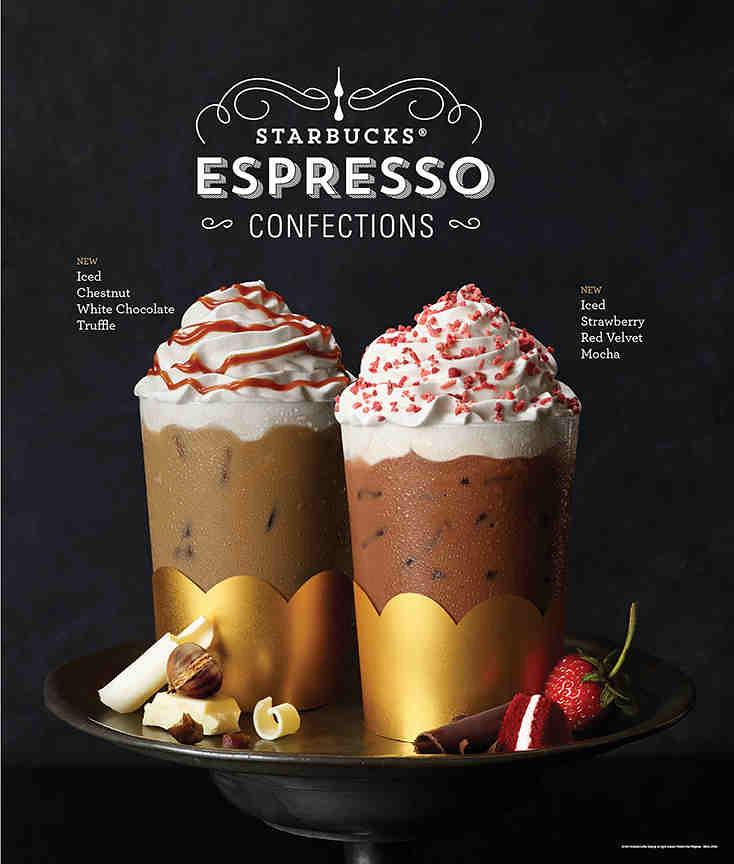 Starbucks Menu 2016 Espresso Confections Mommylace Com