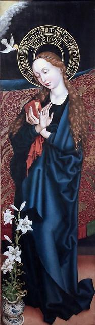 IMG_8235BA Martin Schongauer  1450 1491 Strasbourg   Retable d'Orlier.  Altarpiece Orlier. 1470  Colmar  Unterlinden