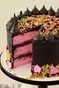 Cherry Black Sesame Cake