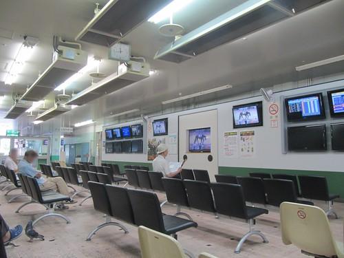 姫路競馬場のスタンド1階
