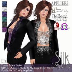 Silk Dreams Liz Poster