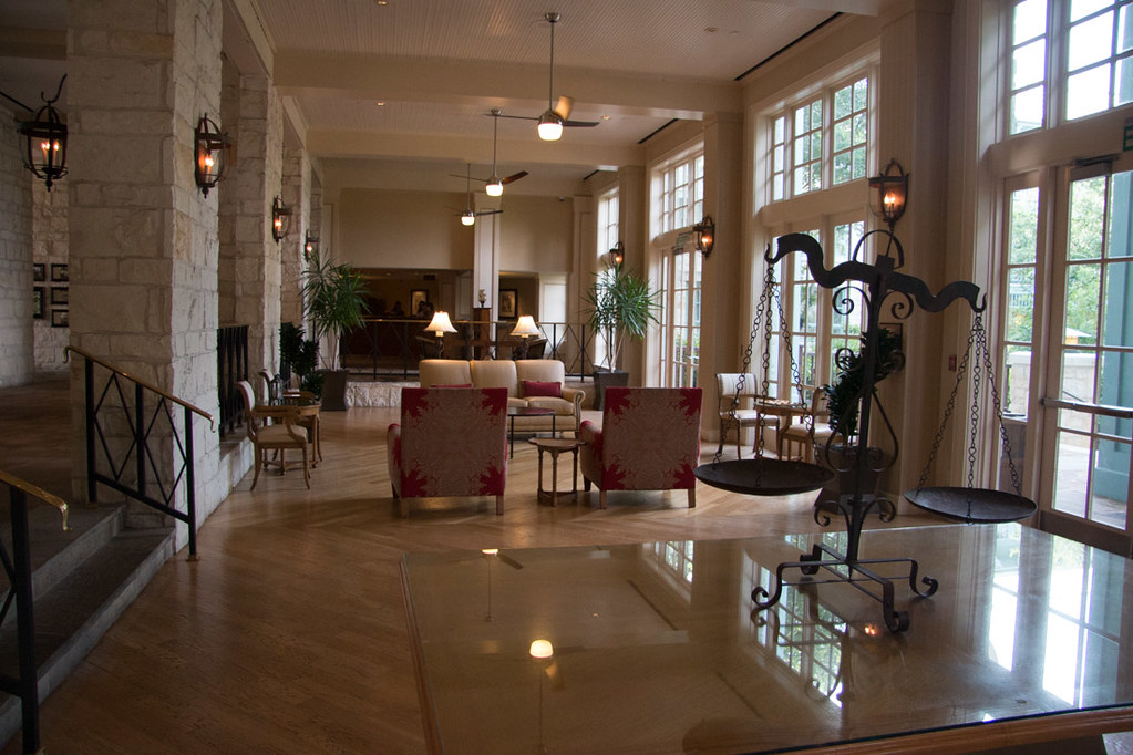 Hyatt Hill Country Resort and Spa Lobby