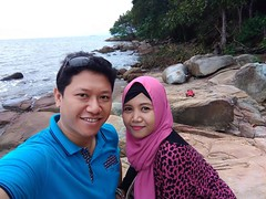 Bersama istri di pulau penibung #mempawah. #latepost  #zenfone3id #builtforphotography #zpcid @asusid