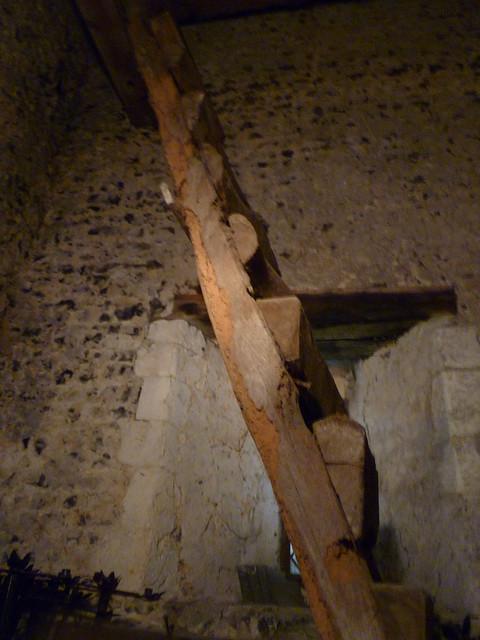 Retired Ladder in Belltower, St Mary Magdalene, Cobham