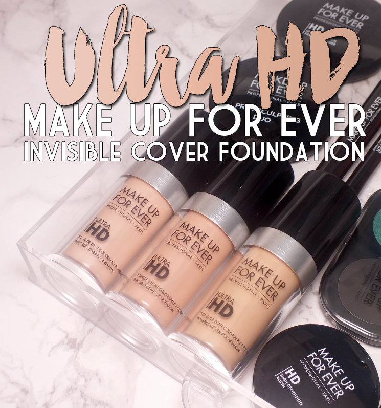 MAKE UP FOR EVER Ultra HD Invisible Cover Foundation R210, 115= R223, 117= Y225 (3)