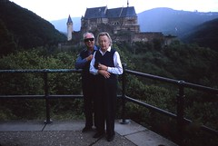 Luxembourg   -   Vianden Castle   -   Syl & Big Daddy   -   June 1987
