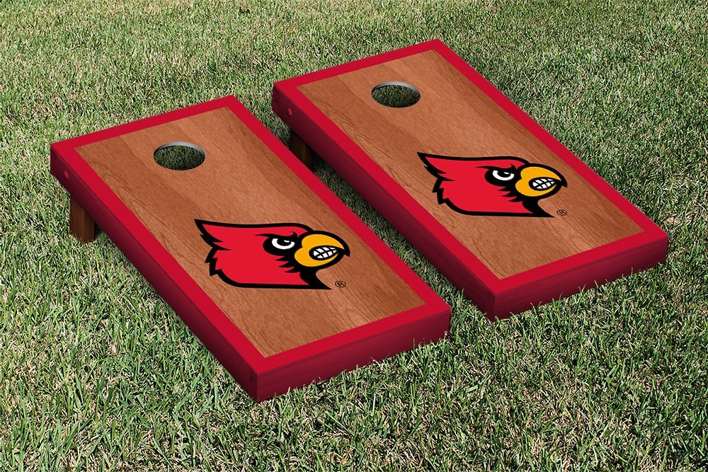 Louisville Cardinals Rosewood Border