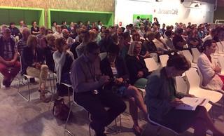 Townhall audience, ColaLife Presentation, Janssen Phramceuticals
