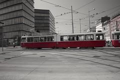 Old Tram in Vienna!