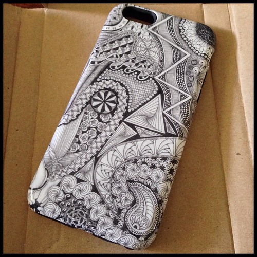 iPhone 6 case from Ten Thousand Tangles on Redbubble