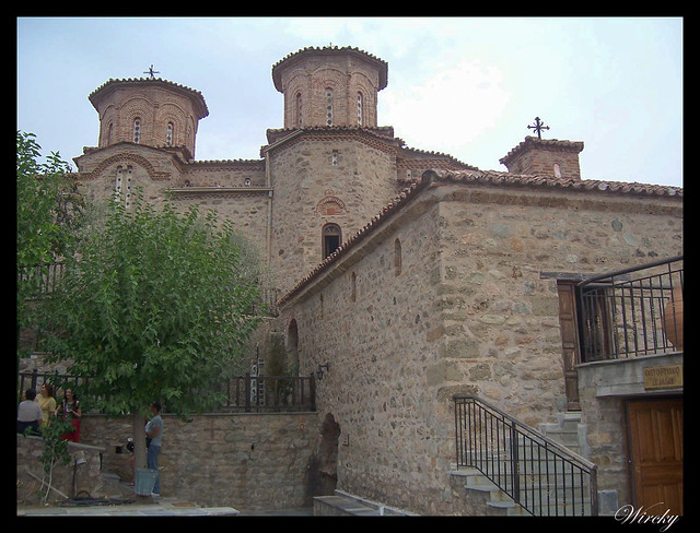Grecia Kalambaka Meteora Termópilas Atenas - Monasterio Varlaam