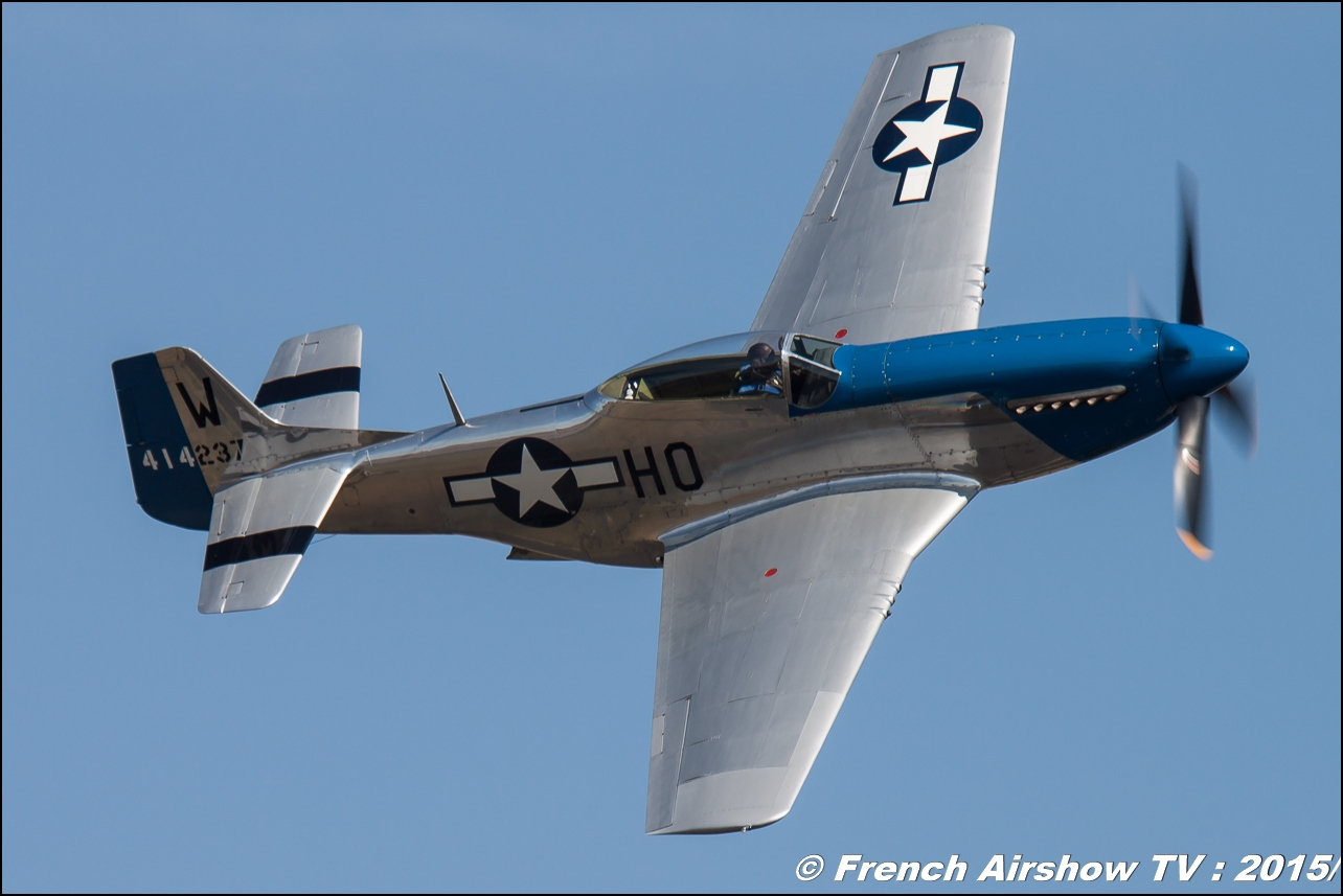 North American P-51D Mustang - F-AZXS, F.AKARY , Moonbeam McSwine ,P-51 Mustang, WAC 2015 Chateauroux, 28th FAI World Aerobatic Championships Châteauroux 2015 , Championnats du Monde de Voltige Aerienne 2015, Meeting Aerien 2015