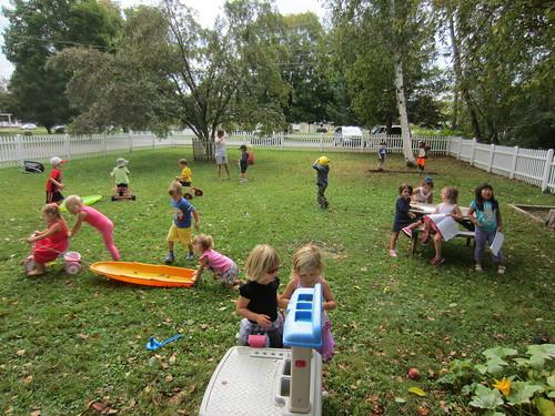 1 - outside play
