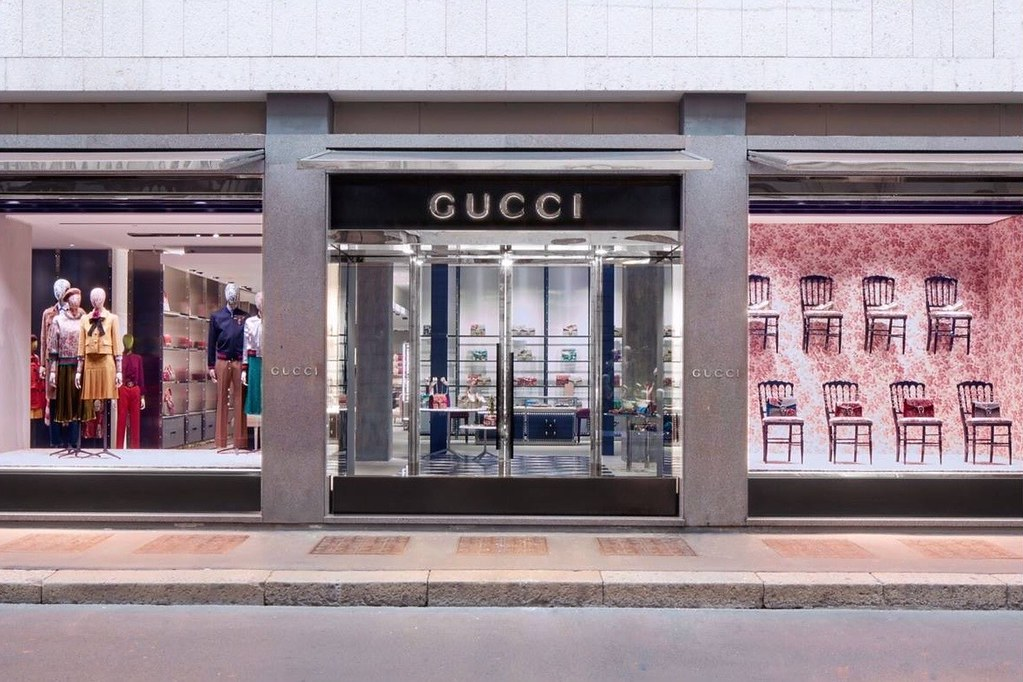 New Gucci Store Design Concept In Milan Senatus