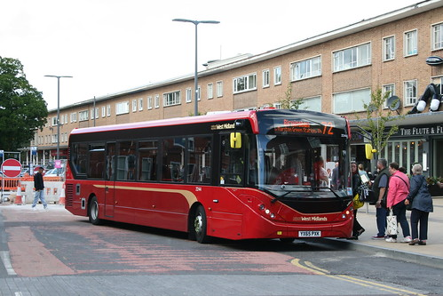 NX West Midlands 2244 on Route 72, Solihull
