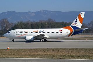 Karthago Airlines  Boeing 737-3Q8 TS-IEF