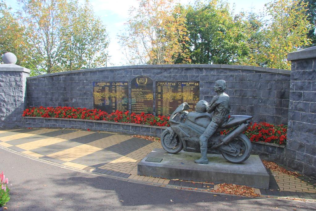 The Joey Dunlop Memorial Garden