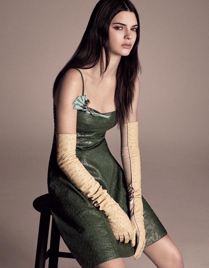 Кендалл Дженнер — Фотосессия для «Vogue» JP 2015 – 5