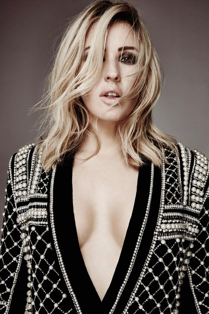 Элли Голдинг — Фотосессия для «Glamour» UK 2015 – 3