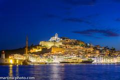 Dalt Vila desde la Marina de Ibiza