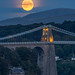 'Harvest Moon Over Menai Bridge' by Kristofer Williams